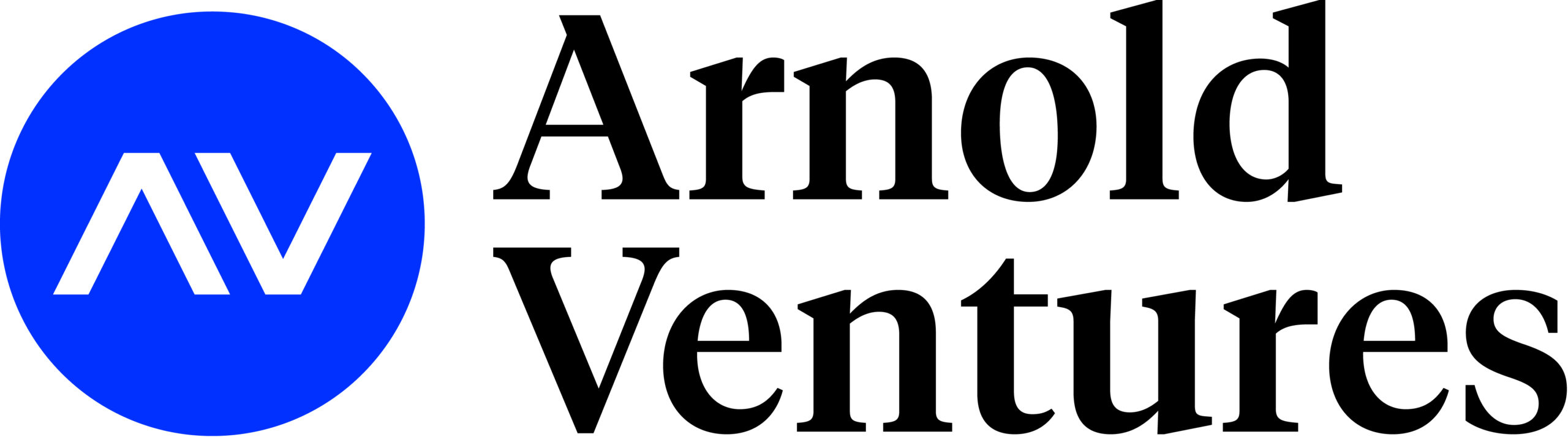 Arnold Ventures Logo