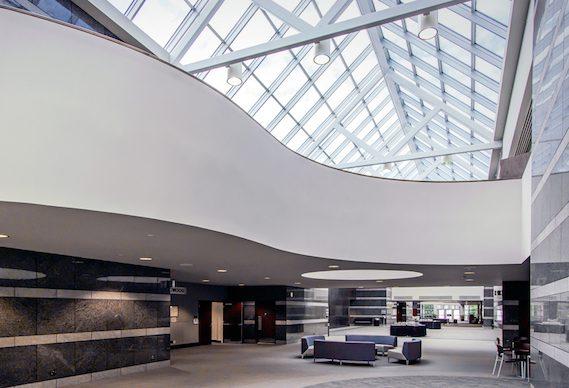 Friday Center atrium