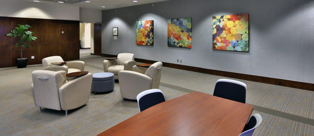 Friday Center interior
