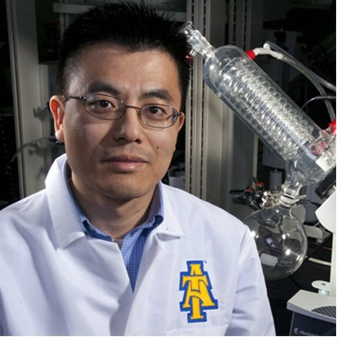 Dr. Shengmin Sang, a food scientist at NC A&T