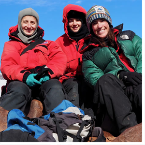 Antarctica's unique climate enticed UNC Charlotte earth sciences researcher Martha Cary Eppes and her research colleagues to spend weeks camping in a tent in sub-zero temperatures, in order to literally monitor and listen to rocks as they fracture.