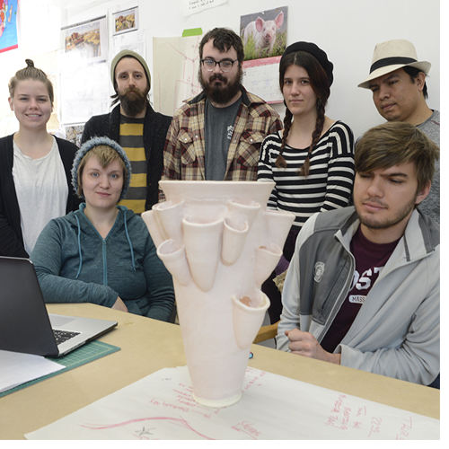 Western Art students provide service through their work, both at home and abroad