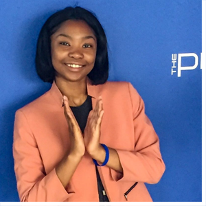 Tykira Beasley, an ECSU junior, is a member of the winning Pitch 2019 team. Pitch is an innovation and entrepreneurial competition held by the Thurgood Marshall College Fund each year.