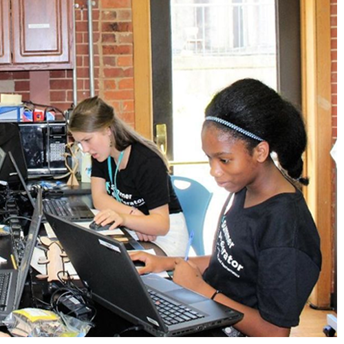 North Carolina School of Science and Mathematics' Summer Accelerator is in full swing during June and July