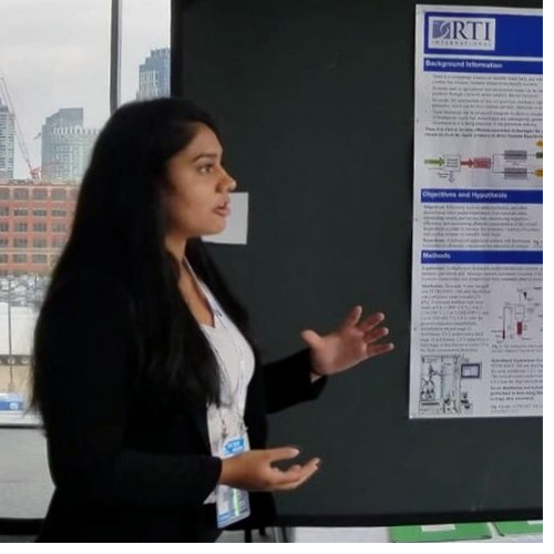 NCSSM '18 graduate Sumani Nunna was a finalist in the highly competitive International BioGENEius Challenge in Boston.