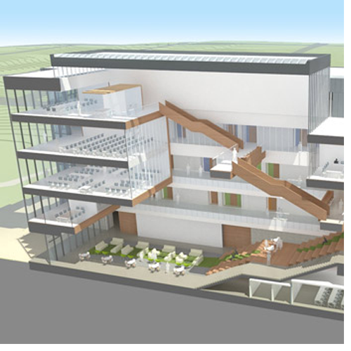 UNC Greensboro Nursing and Instructional Building goes 'green'