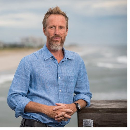 Dylan McNamara, associate professor and chair of the UNCW Department of Physics and Physical Oceanography
