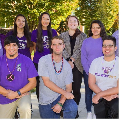 Members of the student organization Digali'i work to foster Native American culture on campus.