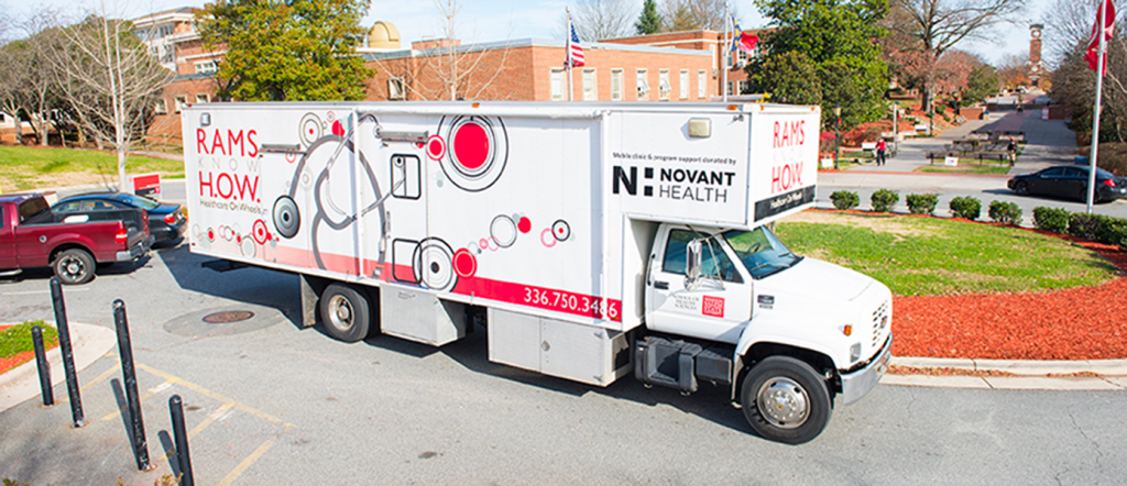 WSSU Mobile Clinic (Hero Image)
