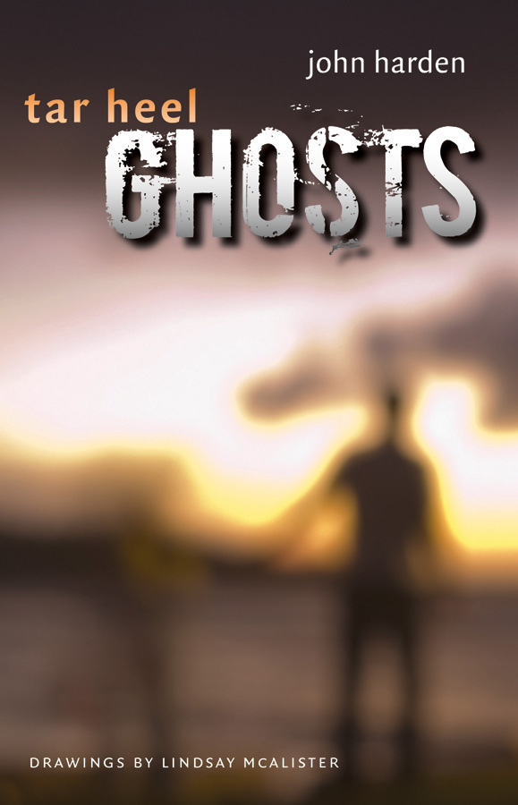 Book cover for Tar Heel Ghosts