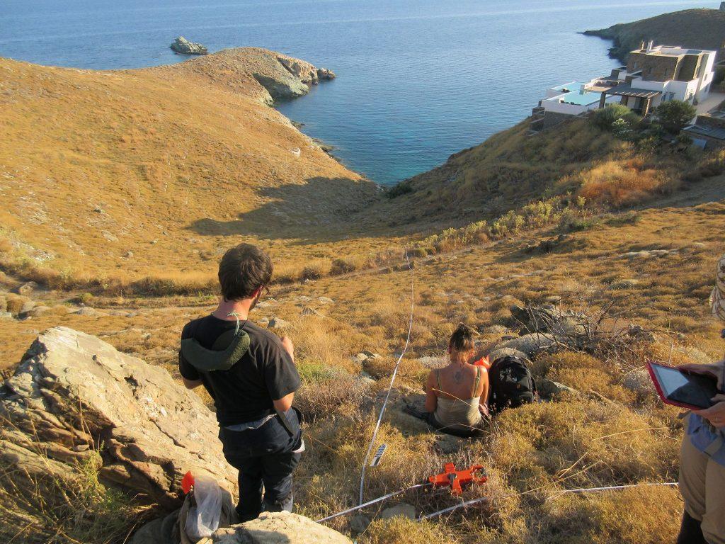 Greek island of Kea