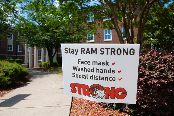 signage promotes preventative measures