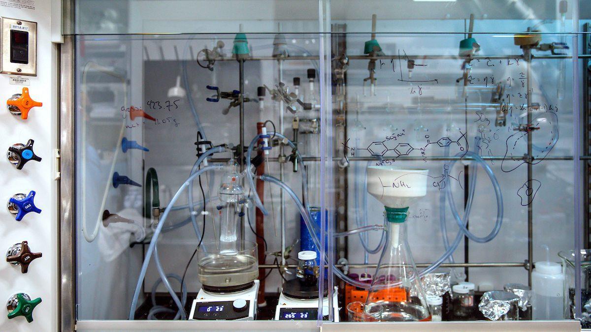 UNC-Chapel Hill research lab