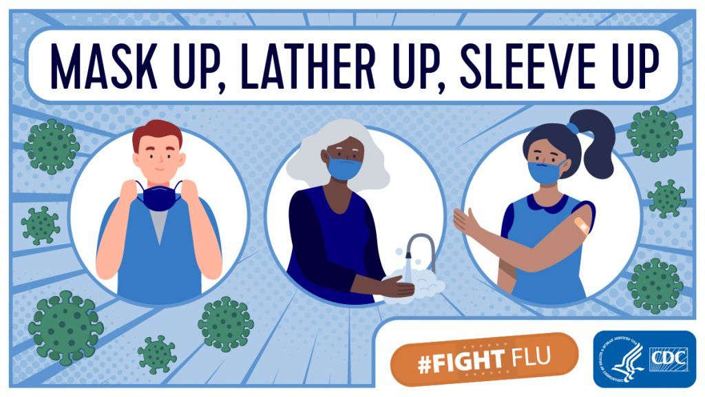 Fight the Flu image from the CDC