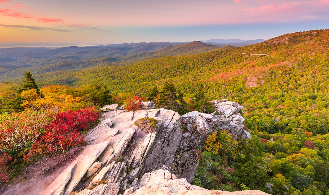Fall Foliage in NC Mountains