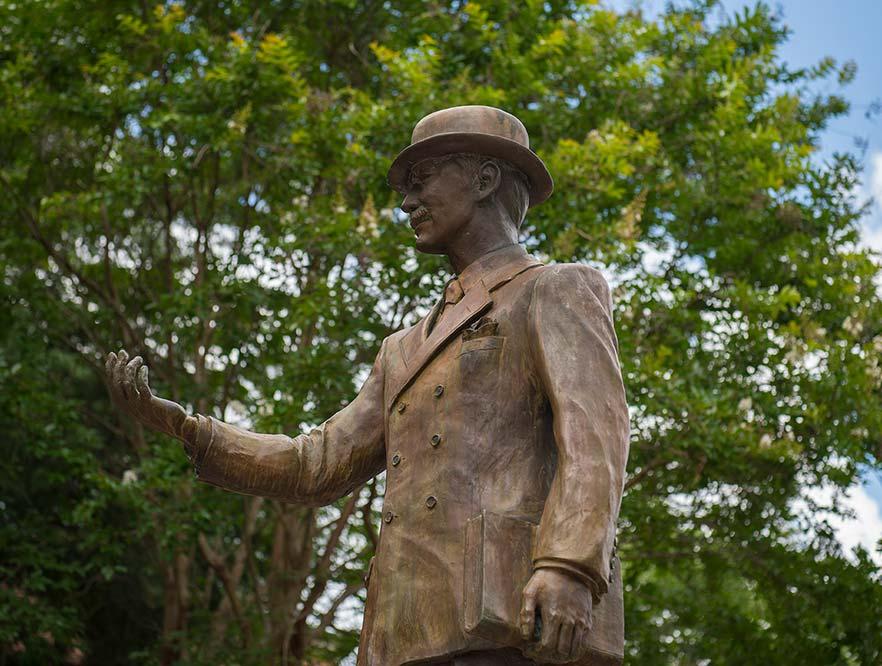 WSSU's Atkins Statue